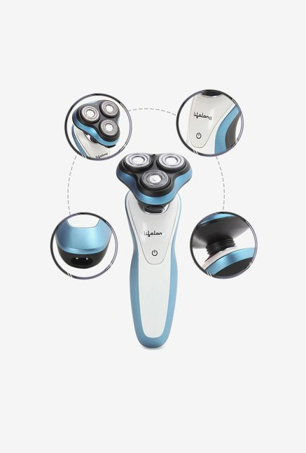 Lifelong Smooth Shave LLES01B Electric Shaver (Blue)