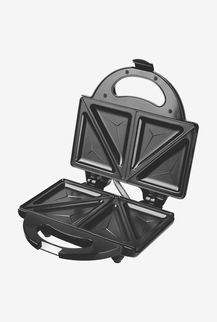 Lifelong Grill-It 116 Triangle Plate Sandwich Maker (Black)