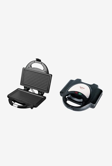 Lifelong Grill-It 116 Grill Plate Sandwich Maker (Black)