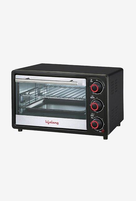Lifelong 16L Oven Toaster Griller - OTG (Black)
