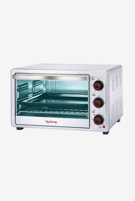 Lifelong 26L Oven Toaster Grill (Sliver)