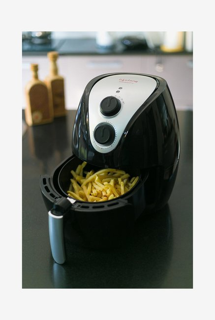 Lifelong Healthy Fry 1350-Watt Air Fryer (Black)