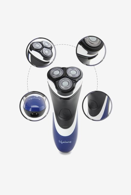 Lifelong Smooth Shave LLES02 Electric Shaver (Blue)