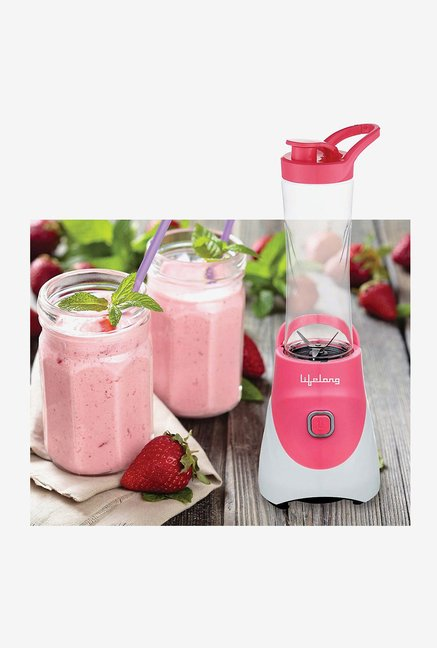Lifelong LLNG01P 300 Watt Nutri Go Blender (Pink)