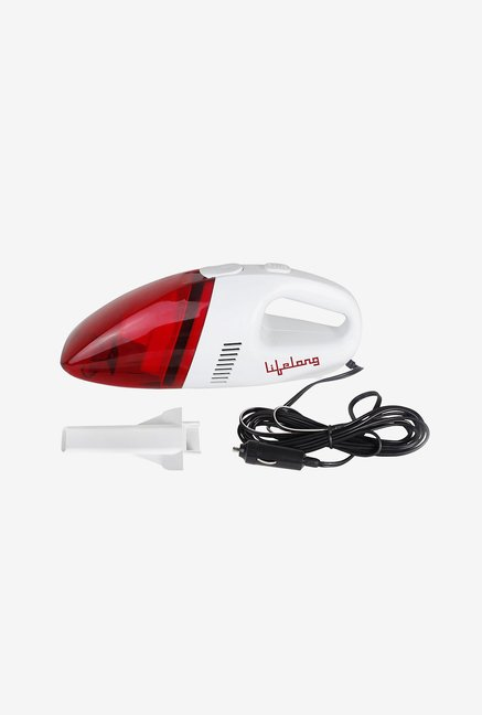 Lifelong LLVAC01 12 V Car Vacuum Cleaner (Red)