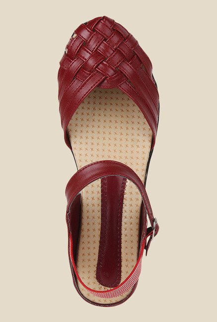 Niremo Cherry Ankle Strap Sandals