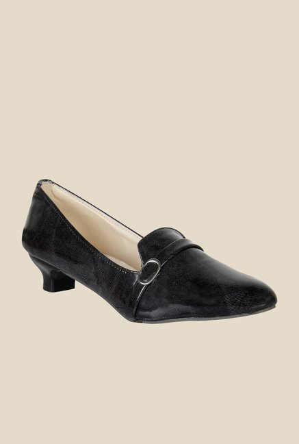 Niremo Black Formal Loafers