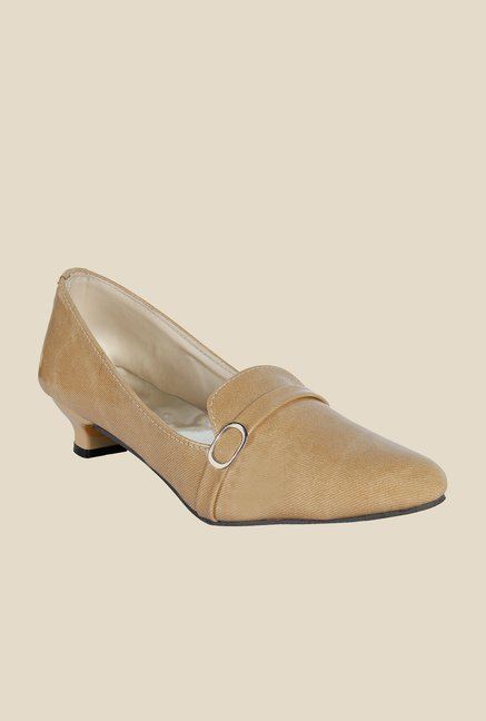 Niremo Cream Formal Loafers