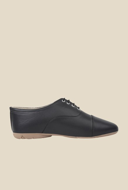 Niremo Black Oxford Shoes