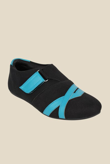 Niremo Black & Blue Casual Shoes