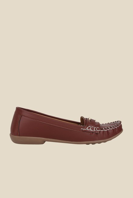 Niremo Brown Casual Loafers