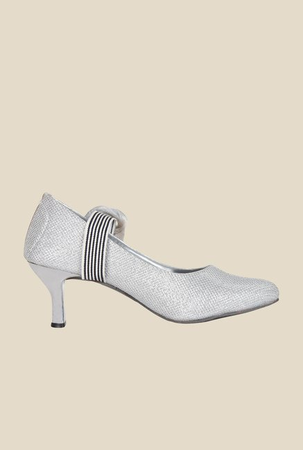 Niremo Silver & Black Pumps