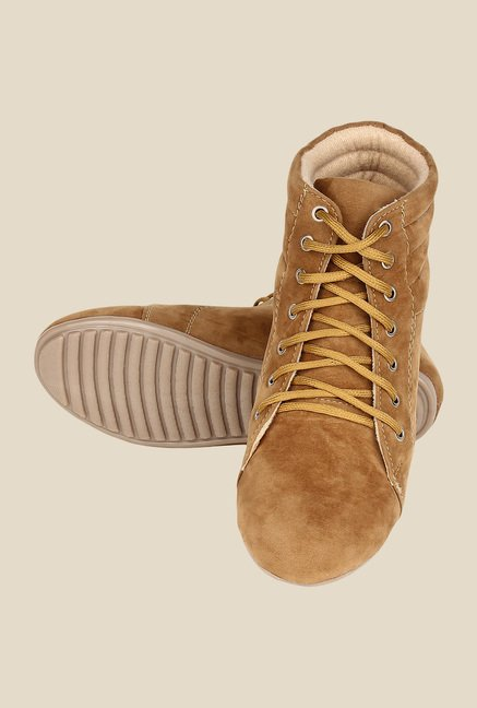 Niremo Beige Casual Boots