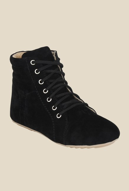 Niremo Black Casual Boots