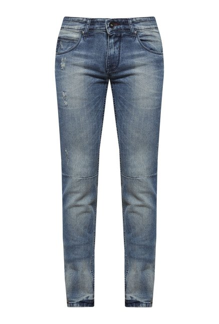 Zudio Blue Slim Fit Jeans