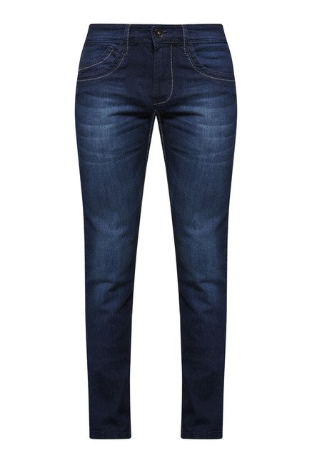Zudio Indigo Slim Fit Jeans