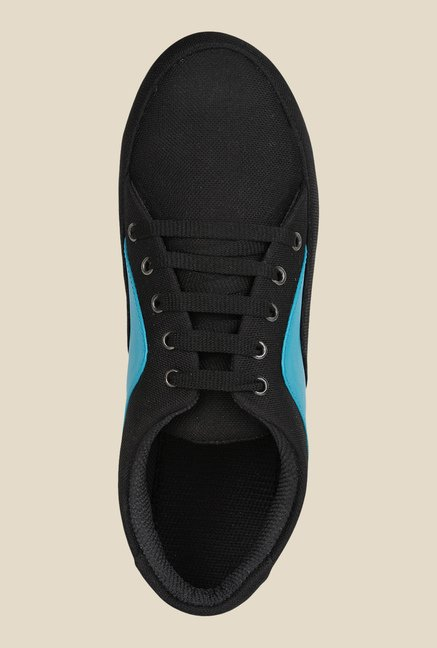 Niremo Black & Blue Sneakers