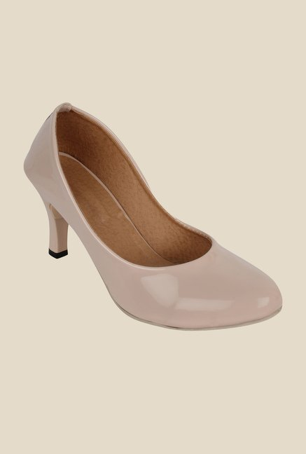 Niremo Cream Stiletto Heeled Pumps