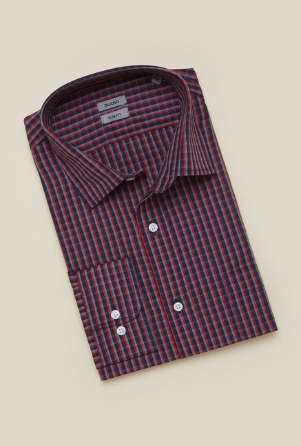 Zudio Multicolor Checks Shirt