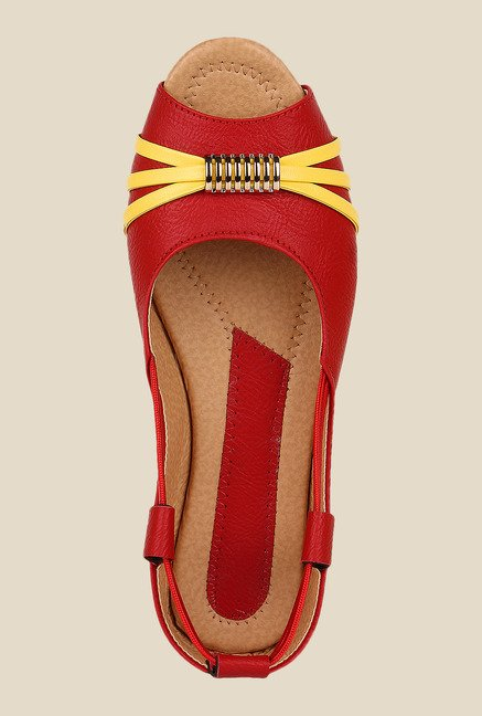 Niremo Red Peeptoe Shoes