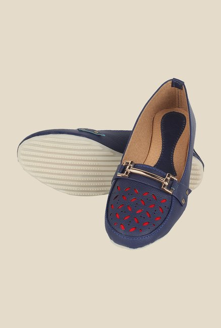 Niremo Navy Casual Loafers