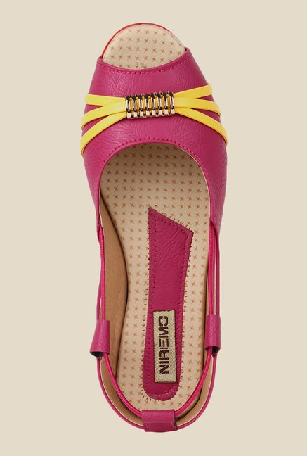 Niremo Pink Peeptoe Shoes