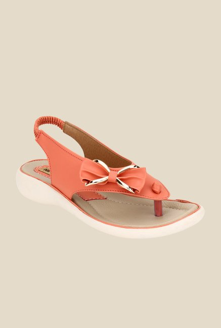 Niremo Peachpuff Sling Back Sandals