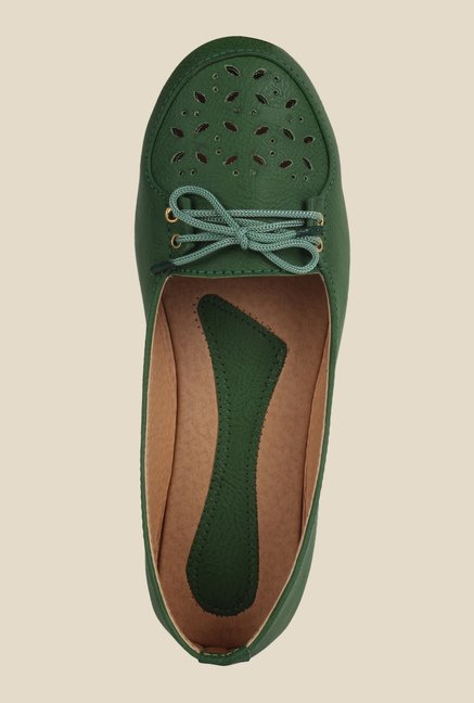Niremo Green Casual Shoes