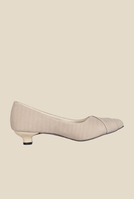 Niremo Cream & White Pumps