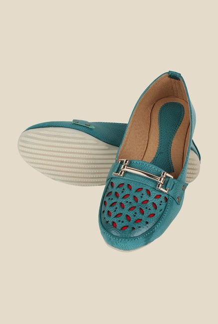 Niremo Sea Blue Loafers