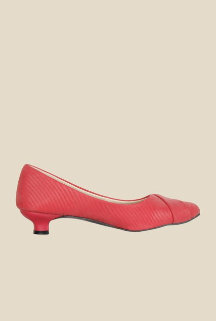 Niremo Pink Kitten Heel Pumps