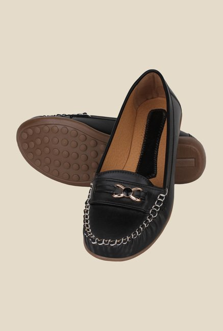 Niremo Black Casual Loafers
