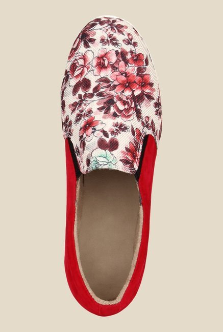 Niremo Red & White Plimsolls