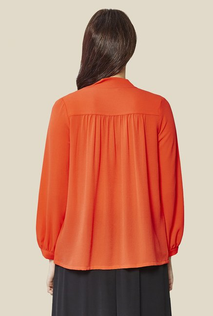 AND Tangerine Solid Top