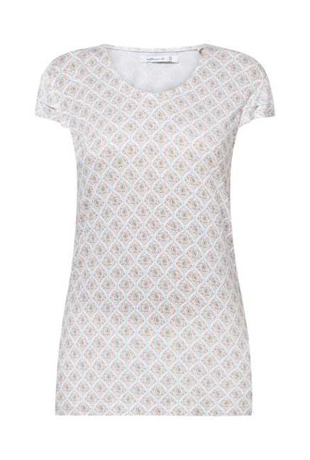 Cottonworld Printed Beige Tunic