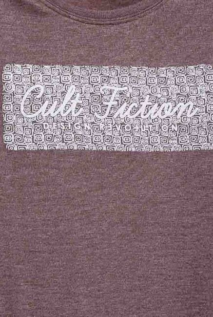 Cult Fiction Wine Graphic Print T Shirt