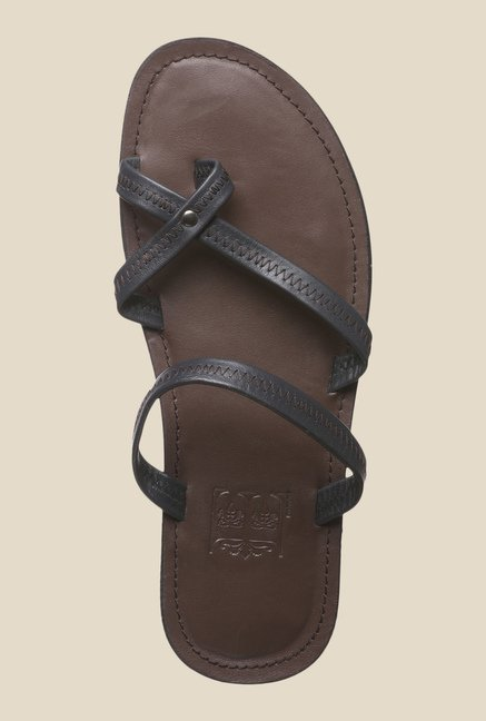 Enzoni Bluefrost Brown Casual Sandals