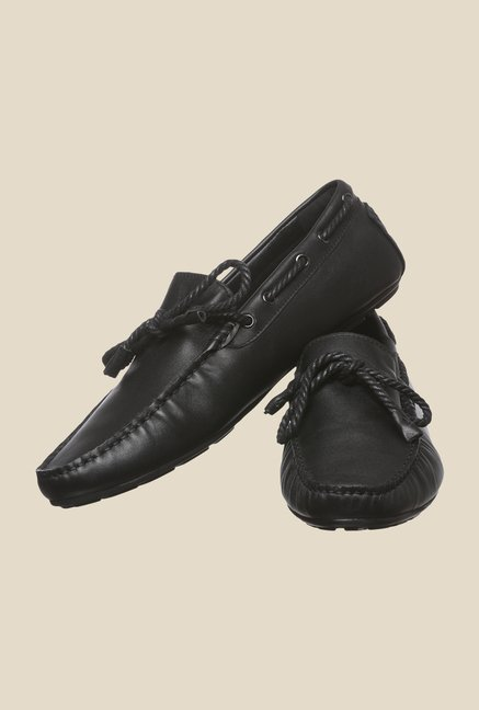 Enzoni Deo 2 Black Boat Shoes