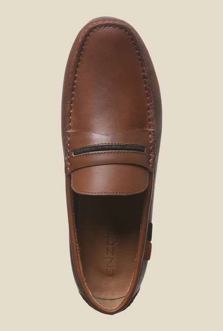 Enzoni Flora Brown Loafers