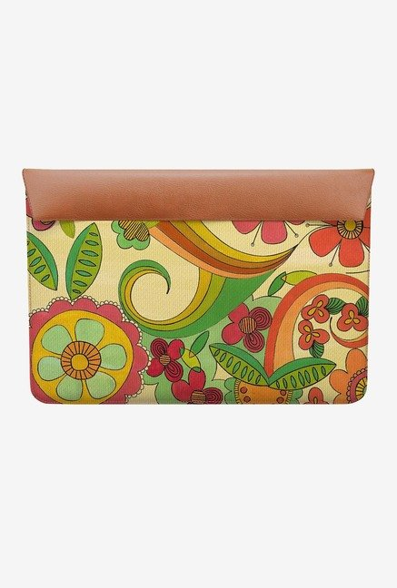 DailyObjects Magic Floral MacBook 12 Envelope Sleeve