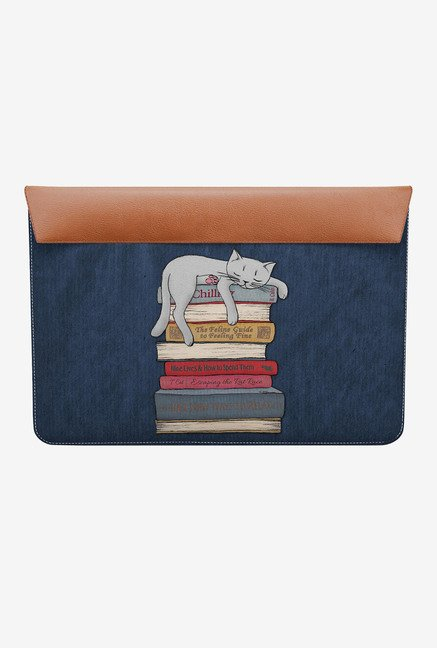 DailyObjects Chill Like Cat MacBook 12 Envelope Sleeve