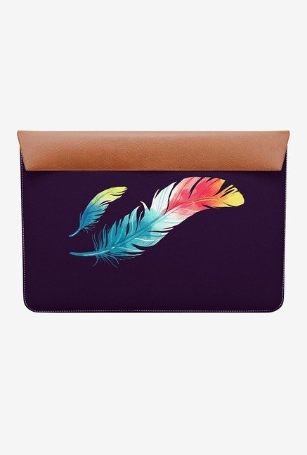 DailyObjects Feather Colors MacBook Pro 15 Envelope Sleeve