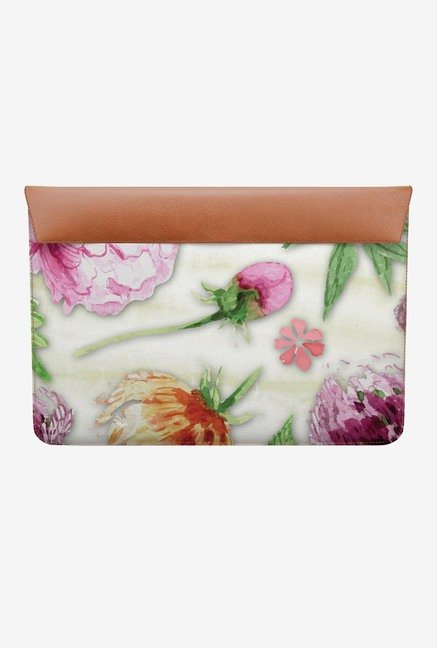 DailyObjects Floral Colours MacBook 12 Envelope Sleeve