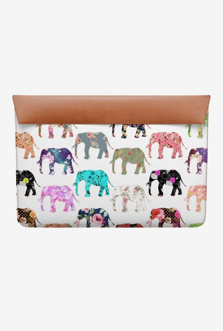 DailyObjects Floral Elephant MacBook 12 Envelope Sleeve