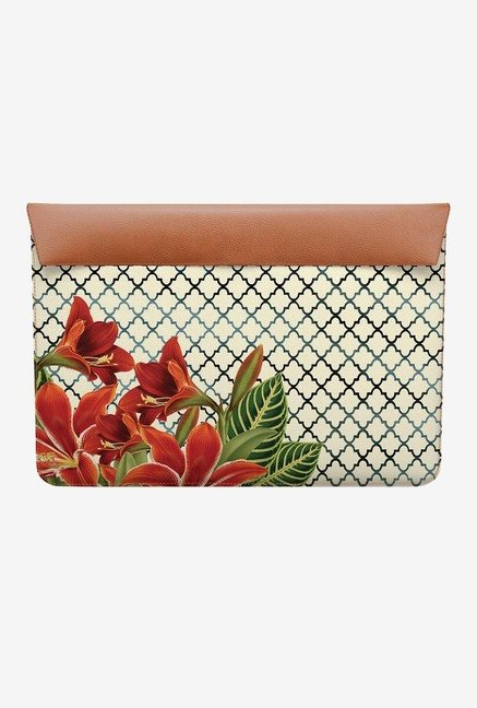 DailyObjects Floral Pattern MacBook 12 Envelope Sleeve