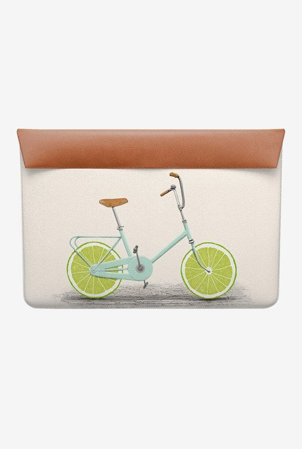 DailyObjects Lime Wheels MacBook Pro 13 Envelope Sleeve