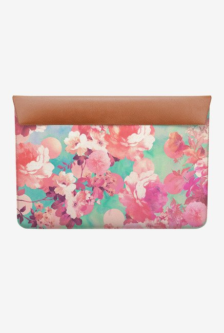 DailyObjects Floral Polka MacBook Pro 15 Envelope Sleeve