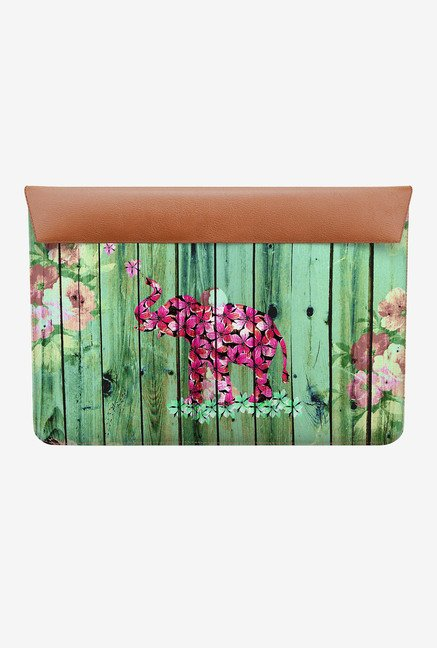 DailyObjects Flower Elephant MacBook Pro 13 Envelope Sleeve
