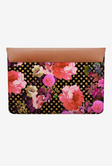 DailyObjects Flowers Dots MacBook Pro 15 Envelope Sleeve