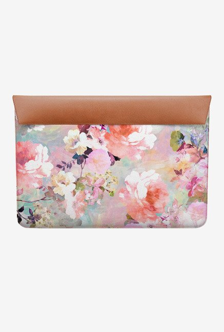 DailyObjects Love A Flower MacBook 12 Envelope Sleeve